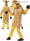Kids Madagascar Costume Boys Girls Animal Fancy Dress Zoo Jungle Book Week Child