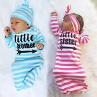US Kids Baby Girls Clothes Newborn girl Take Home outfit Baby Girl Set Baby Gown