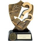 QUIZ TROPHY 2 SIZES AVAILABLE ENGRAVED FREE FUNDRAISER QUESTION MARK TROPHIES
