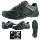 Geox Pavel Men's Leather Lace-Up Casual Shoes