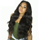 Body Wave Lace Front Brazilian Remy Hair WigsPre Plucked+Baby Hair Bleached Knot