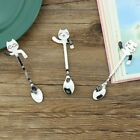 Cat Handle Hanging Coffee Spoon Small Stainless Steel Spoons