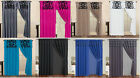 Kyпить Curtain Set Flocked Curtain Panel Window Covering Drapes At LINEN PLUS на еВаy.соm