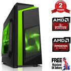 Customize Mega Fast Amd Home Gaming Computer Radeon 16gb Wifi Desktop Pc Fg