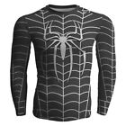 Super Hero T-shirt Long Sleeve Compression Sport 3D Men Fitness Cycling Shirt