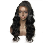 Pre Plucked Lace Front Brazilian Hair Wigs Body Wave Baby Hair Natural Hairline