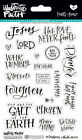 BELLA BLVD Illustrated Faith- Faith>Fear (1814) Clear Stickers