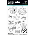 BELLA BLVD Illustrated Faith CHRISTmas 4x6 Clear Stamp Sheet