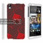Top Holiday Gifts For HTC Desire 816 Case Hard Snap On 2 Piece Slim Shell Patterns