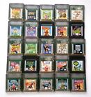 Vintage & Authentic Gameboy Color Games Lot ~ Play on GBC GBA SP ~ Mario Disney