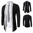 Stylish Mens Knitted Cardigan Coat Slim Fit Sweater Jacket Casual Tops Outwear