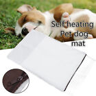 Washable Self Heating Dog Bed Mat Pad Soft Winter Warm Pet Cat Rug Thermal Mat