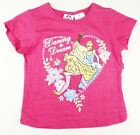 Toddler Girl's Disney Princess Shirt Pink Daring to Dream Te