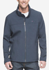 Tommy Hilfiger Men's Heather Navy Softshell Full Zip Jacket