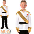 Prince Charming Boys Fancy Dress Royal Fairy Tale Book Day Childs Kids Costume