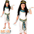 Queen Cleopatra Girls Egypt Empress Childrens Kids Childs Egyptian Costume New