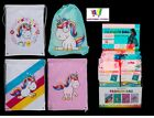 UNICORN DRAWSTRING BACKPACK BAG SCHOOL PE DANCE SWIMMING DURABLE QUALITY UK GIFT