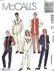 McCall's 8581 Misses Unlined Jacket Top Pants Pattern MANY SIZES OOP VINTAGE