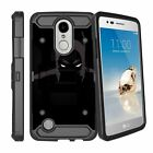 For LG K20 V | K20 Plus | K10 | Grace | LG V5 Dual Layer Case with Kickstand
