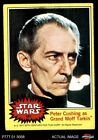1977 Topps Star Wars #181 Peter Cushing as Grand Moff Tarkin VG/EX $2.4 USD on eBay
