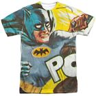 Authentic Batman Classic TV Show Pow On the Chin Allover Front T-shirt top
