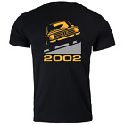 BMW 2002 Car Vintage Classic Retro Printed Design T Shirt Tee Shirt 3 Colours