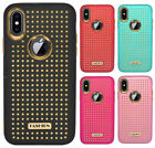 For iPhone X / 8 Luxury Fashion Glitter Scratch Resistant Hybrid Hard Case Cover