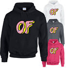 ODD FUTURE DOUGHNUT Hoodie Hoody Top OFWGKTA Tyler The Creator Wolf Gang Earl OF