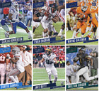 2017 Panini Prestige Football - Rookie Cards - Choose From RC Card #'s 201-290