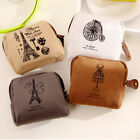 New Women's Canvas Purse Zip Wallet Small Coin Bag Case Classic Pouch Holder