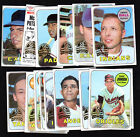 2018 TOPPS HERITAGE 1969 ORIGINAL BUYBACK SINGLES:  COMPLETE YOUR SET YOU PICK
