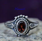 Ring ~ ALORIA ~ Medieval - Roter Kristall - Silber  925