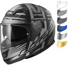 LS2 FF320 Stream Evo Bang Motorcycle Helmet & Visor Full Face Motorbike Bike ECE