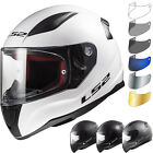 LS2 FF353 Rapid Solid Motorcycle Helmet & Visor Motorbike Bike Full Face Crash