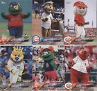 2018 Topps OPENING DAY * MASCOTS Insert * Complete Your Set You Pick Card 1-25