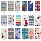 Smart Case Leather magnet Cover Pattern Wallet Pouch for Huawei Mobile Phone 05A