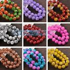 Wholesale 8mm 10mm 12mm Round Glass Loose Spacer Beads DIY Jewelry Findings