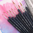 Pointed Painting Brush Artist Miniature Paint Fine Detail Drawing Tool 15cm Pro