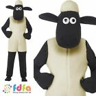 Shaun The Sheep Jumpsuit Novelty TV Show Boys Childs Kids Fancy Dress Costume