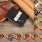 Men Bifold Short ID Credit Card Holder Wallet Money Check Clip Wallet DZ88 01