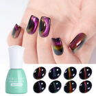 Holographic Chameleon 3D Soak Off Cat Eye UV Gel Nail Polish