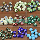 NEW 10pcs 14mm Round Ceramic Charms Loose Spacer Beads DIY Jewelry Findings