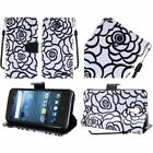For Boost Mobile ZTE Prestige ROSE Leather Wallet Case Pouch Flip Phone Cover