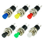 10x Miniature Momentary ON/OFF Push Button SPST Switches Push To Make 250V AC