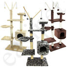 Cat Tree Scratching Post Scratcher Activity Centre Kitten Scratch Toys Easipet