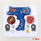 Fusion Top Metal Masters Rapidity Fight Rare Beyblade 4D Launcher Set Toys Gifts