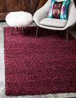 Cozy Shag Rug Modern Soft Fluffy Solid Area rugs All Sizes and Colors Shaggy