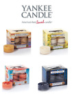 NEW Box Of 12 Yankee Candle Scented Tea, Lights Fresh Floral or Fruity T-Light