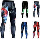 Men Compression Sports Base Layer Gym Fitness Exercise Pants Leggings Activewear