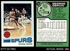 1977 Topps #73 George Gervin Spurs NM